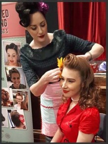 Vintage Hair Styling training Course in Southampton